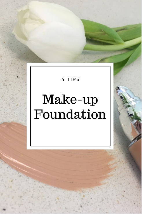 4 tips make-up : foundation